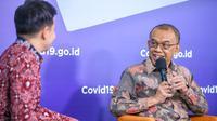 Sesmenpora Gatot S Dewa Broto menegaskan untuk Liga Olahraga di Indonesia kapan bergulir tergantung oleh cabang olahraga masing-masing.(Foto: satria/kemenpora.go.id)