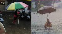 6 Momen Pakai Payung saat Hujan Ini Bikin Senyum Tipis (sumber: 1cak.com)