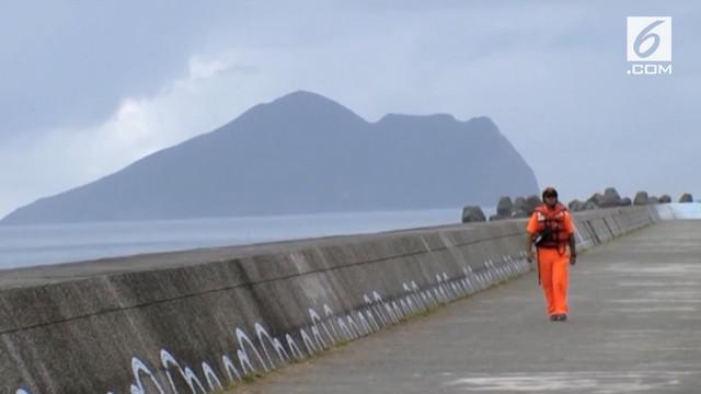 Otoritas telah mengeluarkan peringatan ancaman topan maria yang akan melanda sejumlah kawasan di Taiwan.