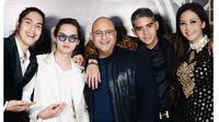 Momen Kebersamaan Irwan Mussry dengan Al, El dan Dul (Sumber: Instagram//maiaestiantyreal)