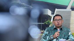 Fadli Zon mengatakan DPR RI akan memperkuat kampanye internasional dari Global Parliamentarians for Against Corruption (GOPAC), Senayan, Jakarta, Selasa (9/12/2014). (Liputan6.com/Andrian M Tunay)