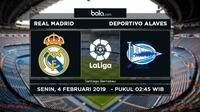 La Liga: Real Madrid Vs Deportivo Alaves (Bola.com/Adreanus Titus)