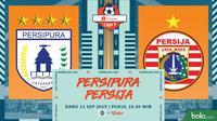 Shopee Liga 1 - Persipura Jayapura Vs Persija Jakarta (Bola.com/Adreanus Titus)