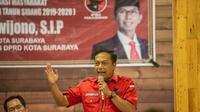 Ketua Badan Pemenangan Pemilu (Bappilu) DPC PDIP Surabaya Anas Karno. (Foto: Dian Kurniawan/Liputan6.com).