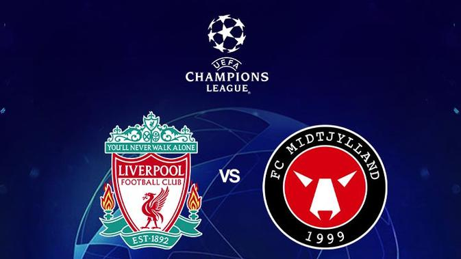 Prediksi Liga Champions Liverpool Vs FC Midtjylland: Pesta Gol di Anfield?  - Dunia Bola.com