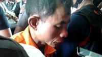 Jamhari Muslim atau JM tersangka Pembunuhan Janda dan dua putrinya di Rejang Lebong Bengkulu (Liputan6.com/Yuliardi Hardjo)
