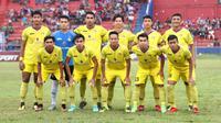 Persik Kediri lolos ke babak 16 besar Liga 3 2018. (Bola.com/Gatot Susetyo)