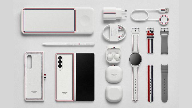 Samsung Galaxy Z Fold3 5G Thom Browne Edition/Istimewa.