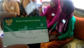 Kartu Indonesia Sehat (KIS). (Foto: Liputan6.com/Muhamad Ridlo)