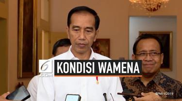 Presiden Joko Widodo menyampaikan ucapan duka atas jatuhnya korban jiwa dalam kejadian di Wamena baru-baru ini. Presiden meminta masyarakat, khususnya yang berada di Wamena, untuk dapat saling menahan diri pascakejadian yang menyebabkan 33 orang meni...