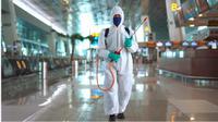 Angkasa Pura II menggelar kampanye keselamatan (safety campaign) untuk memperkuat protokol kesehatan pencegahan COVID-19.