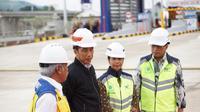 Presiden Joko Widodo meresmikan pengoperasian Jalan Tol  Bogor Ciawi Sukabumi Seksi 1 yakni dari Ciawi hingga Cigombong di Bogor, Jawa Barat, Sabtu (1/12/2018) ini. Dok Kementerian BUMN.