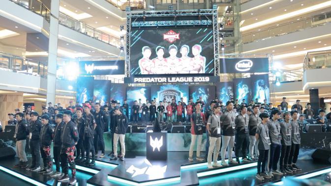 Babak Kualifikasi Asia Pacific Predator League 2019 zona Indonesia. (Bola.com / Yusuf Satria)