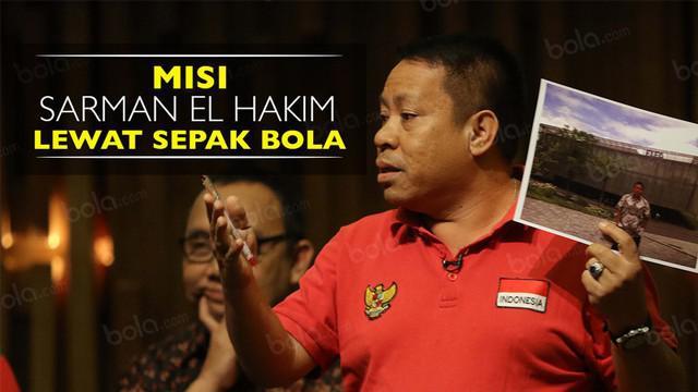 Video wawancara salah satu calon ketua umum PSSI periode 2016-2020, Sarman El Hakim, soal misinya di sepak bola.