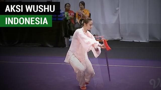 Berita video kumpulan aksi menawan atlet wushu Indonesia di nomor putri pada SEA Games 2017 yang berbuah medali emas.