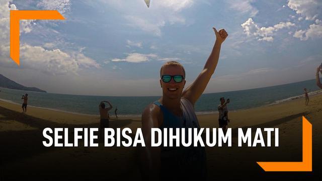 Selfie di Pantai Ini, Bisa Dihukum Mati