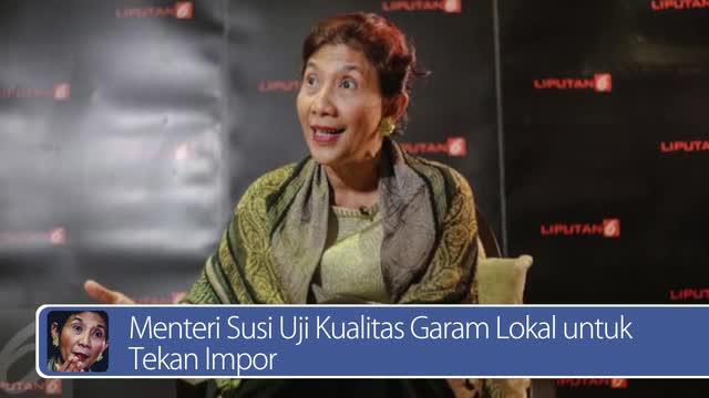 Daily TopNews hari ini akan menyajikan berita seputar Menteri Susi menguji kualitas garam lokal untuk tekan impor, dan BTN yang mendapat pinjaman senilai Rp 10 triliun dari bank ICBC Indonesia. Bagaimana berita lengkapnya? Lihat dalam video berikut