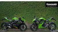 Kawasaki Motor Indonesia (KMI) mulai memamerkan Ninja 250 cc 4-silinder atau Ninja ZX-25R (ist)