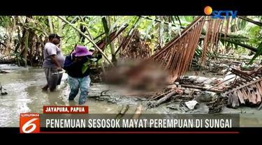 Warga Perumahan BTN Gajah Mada Sentani, Jayapura, digegerkan oleh penemuan jasad wanita dalam kondisi mengenaskan.