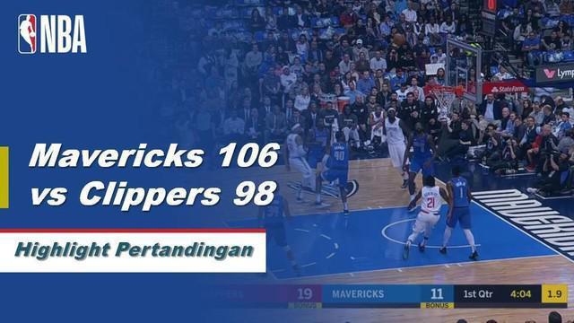 DeAndre Jordan menambah 13 poin dan meraih 16 papan saat Dallas menjatuhkan Los Angeles, 106-98.