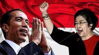 Ilustrasi Jokowi-Megawati (Liputan6.com/Johan Fatzry)