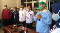 Konferensi pers terrait pemisahan bayi kembar siam di RSUP Haji Adam Malik, Kota Medan, Sumatera Utara (Sumut)