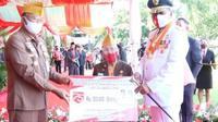 Tepat di momentum Hari Kemerdekaan RI, Gubernur Sulut Olly Dondokambey memberikan penghargaan bagi para sepuh ini.