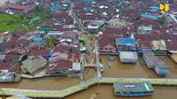 Kampung nelayan Beting, Pontianak (Foto: Dok Kementerian PUPR)