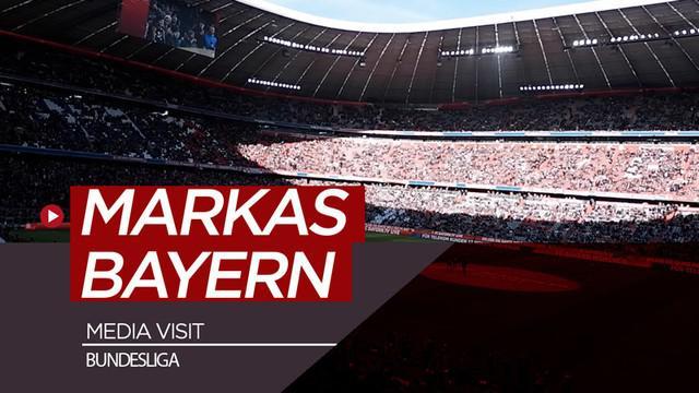 Berita video vlog kali ini laporan langsung jurnalis Bola.net, Asad Arifin, langsung dari Jerman untuk berkunjung ke markas Bayern Munich dalam acara media visit Bundesliga.