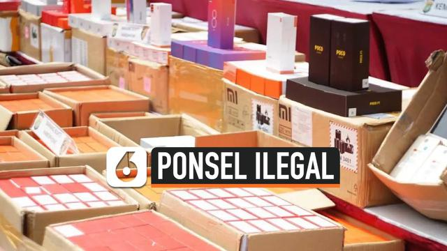 TV Ponsel Ilegal
