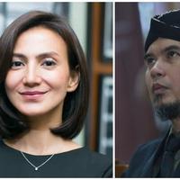 Wanda Hamidah dan Ahmad Dhani (Bintang Pictures)