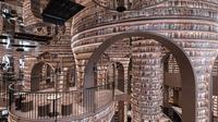 Perpustakaan di China yang mirip seperti dalam film Harry Potter (Dok.Instagram/@ xlivingart/https://www.instagram.com/p/CFejQZhMncT/Komarudin)