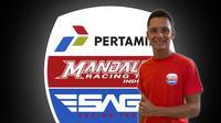 Pembalap Mandalika SAG Team Moto2 Bo Bendsneyder. (Mandalika SAG Team)