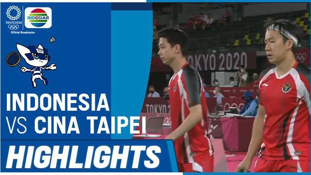 Berita video highlights ganda putra Indonesia, Marcus Gideon / Kevin Sanjaya, menelan kekalahan pada laga ketiganya di Grup A Bulutangkis di Olimpiade Tokyo 2020, Selasa (27/7/2021) siang hari WIB.