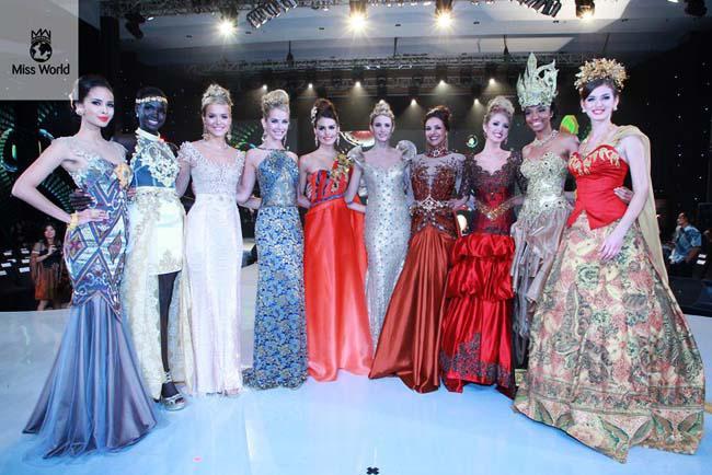 10 Pemenang: Filipina, Sudah Selatan, Inggris, Amerika Serikat, Cyprus, Italia, Prancis, Brazil, Kamerun dan Ukraina | Foto: missworld.com