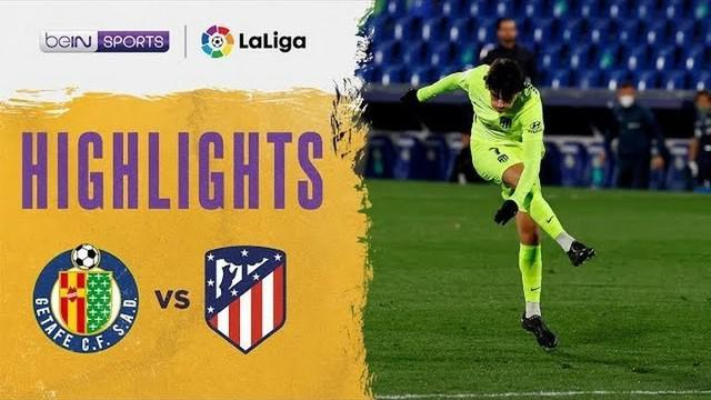 Berita video highlights Liga Spanyol, Atletico Madrid bermain imbang 0-0 lawan Getafe, Minggu (14/3/21).