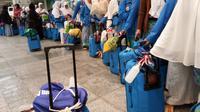 Jemaah haji kembali di Indonesia 80 persen lebih tiba tepat waktu. (www.haji.kemenag.go.id)