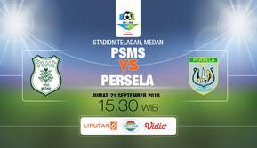 PSMS vs Persela Lamongan