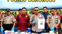 Kepolisian menetapkan Pardi (29) sebagai tersangka Pembunuhan Mahasiswi Universitas Bengkulu. (LIputan6.com/Yuliardi Hardjo)