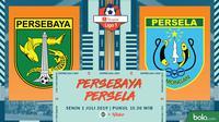 Shopee Liga 1 - Persebaya Surabaya Vs Persela Lamongan (Bola.com/Adreanus Titus)