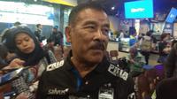 Manajer Persib Bandung Umuh Muchtar. (Liputan6.com/Huyogo Simbolon)