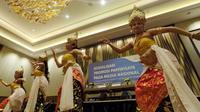Kementerian Pariwisata baru saja menggelar Sosialisasi Promosi Pariwisata Mancanegara pada Media Nasional. Acara yang digelar di Bali, 5-7 September 2018 tersebut turut dihadiri Forum Wartawan Pariwisata. (Foto: Ahmda Ibo/ Liputan6.com)