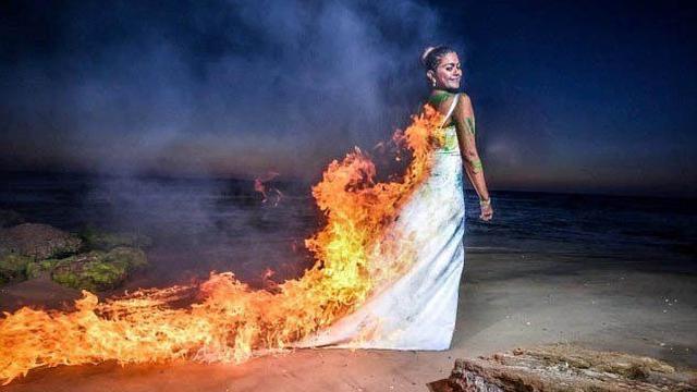 Foto Prewedding Paling Ekstrem (sumber: Huffingtonpost)