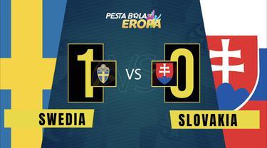 Berita video motion grafis Timnas Swedia mengalahkan Slovakia 1-0 berkat gol penalti Emil Forsberg pada laga matchday kedua Grup E Euro 2020, Jumat (18/6/2021) malam hari WIB.