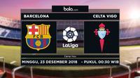 La Liga Barcelona Vs Celta Vigo (Bola.com/Adreanus Titus)