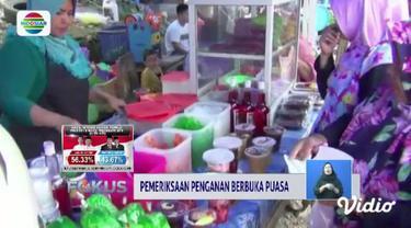 BPOM Kota Kendari dan Kota Denpasar melakukan uji coba laboratorium takjil sebagai langkah pencegahan konsumsi bahan berbahaya.
