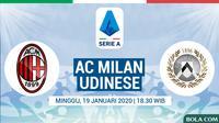 Serie A - AC Milan Vs Udinese (Bola.com/Adreanus Titus)