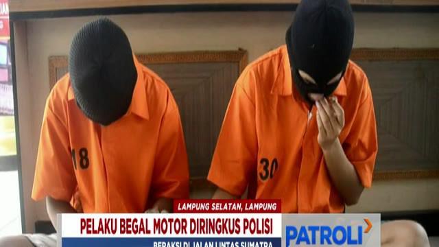 Kedua pelaku dijerat Pasal 363 KUHP dengan ancaman hukuman 7 tahun penjara.