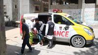 Ambulans bantuan warga Padang, Sumatera Barat beroperasi bantu rakyat Palestina di jalur Gaza. (Humas Kota Padang)