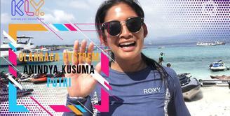Anindya Kusuma Putri Ikut Tur Jet Ski Bali menuju Gili Trawangan.